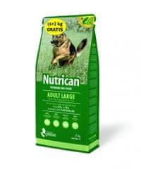 Nutrican Adult Large hrana za odrasle pse, za velike pasme, 15 kg + 2 kg