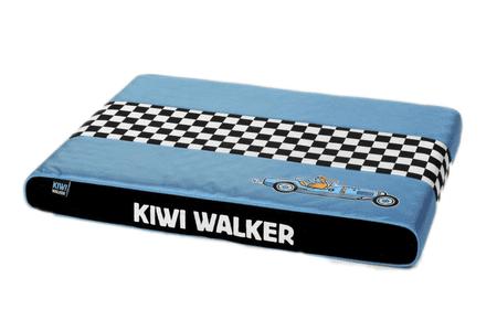 KIWI WALKER ortopedska vzmetnica Racing Bugatti, L, modra