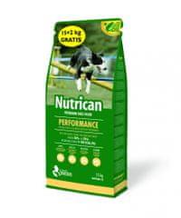 Nutrican Performance hrana za odrasle pse, 15 kg +2 kg