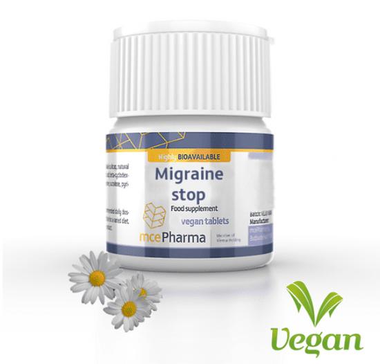 mcePharma Migraine stop s řimbabou a šišákem, 60 tablet