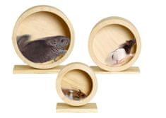Karlie koło drewniane do klatki dla gryzoni, średnica 15 cm