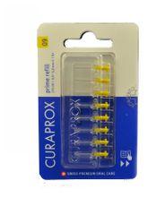 Curaprox szczoteczka międzyzębowa Prime Refill 09 - 4,0 mm / żółta 8 szt. - wymienna