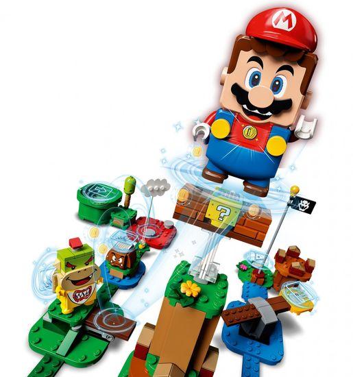 LEGO 71360 Dobrodružství s Mariem – startovací set + LEGO Super Mario™ 71371 Létající Mario – obleček