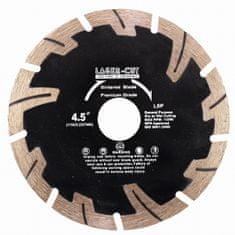 LASER CUT L00121 - Diamantový kotúč segmentový 115 x 22,23 x 7mm LSP