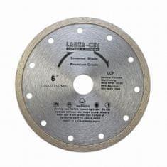 LASER CUT L00103 - Diamantový kotúč celoobvodový 150 x 22,23 x 7mm LCR