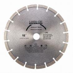 LASER CUT L001250 - Diamantový kotúč segmentový 250 x 25,4 x 10mm LSS