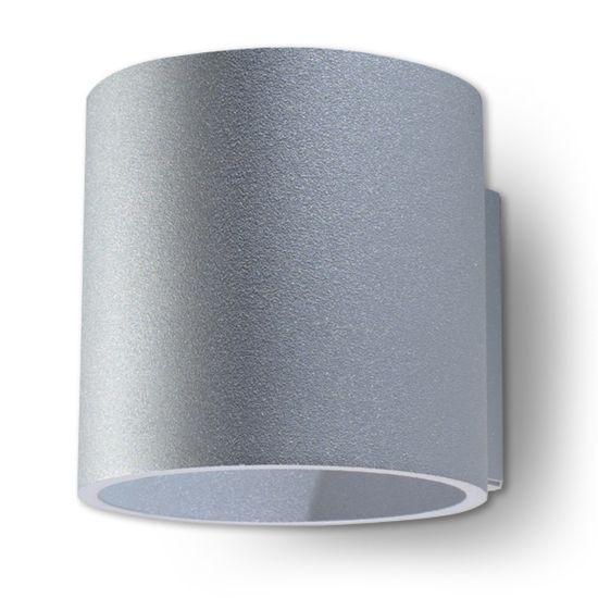 Sollux Nástěnné svítidlo - ORBIS 1 GREY