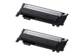 Printwell Samsung Xpress SL-C410W kompatibilní kazeta, barva náplně dvojbalení černá, 2 x 1500 stran