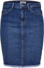 ONLY Dámska sukňa ONLELIZA LIFE 15159611 Medium Blue Denim