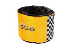 KIWI WALKER Racing Cigar okrogla postelja iz ortopedske pene