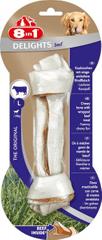 8in1 Delights Beef L žvečljiva kost, 1 kos