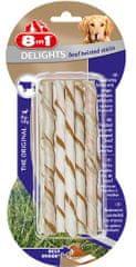 8in1 Delights pleteni štapići, govedina, 10 komada