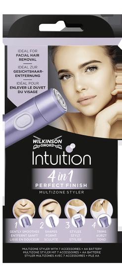 Wilkinson Sword Intuition Perfect Finish 4v1 batériový strojček vrátane 1xAA alkalickej batérie