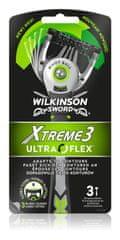 Wilkinson Sword Xtreme3 UltraFlex jednorázová holítka 3 ks