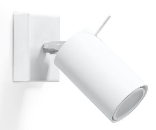 Sollux Nástěnne svítidlo - RING WHITE