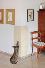 Karlie škrábadlo rohové béžové, 28x80 cm