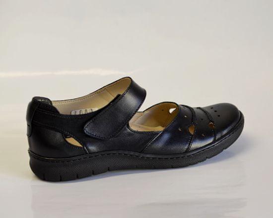 Dámská kožená vycházková obuv - 37