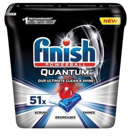 Finish Quantum Ultimate - mosogatógép kapszula 51 db