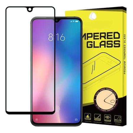 MG Full Glue üvegfólia Xiaomi Mi 9 SE, fekete