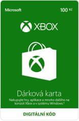 Microsoft Xbox - Dárková karta 100 Kč (K6W-01274) - elektronicky
