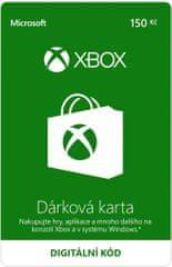 Microsoft Xbox - Dárková karta 150 Kč (K6W-01249) - elektronicky