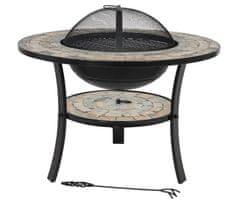 La hacienda Mykonos stol, roštilj