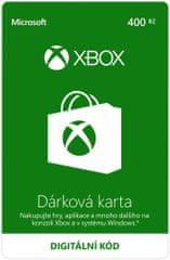 Microsoft Xbox - Dárková karta 400 Kč (K6W-01252) - elektronicky