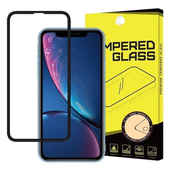 MG PRO+ 5D Full Glue ochranné sklo pre iPhone 11 / XR, čierne