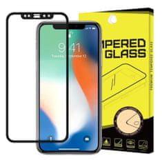 MG Full Glue ochranné sklo pre Apple iPhone 11 / XR, čierne