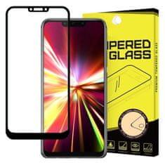 MG kaljeno steklo Full Glue Super za Huawei Mate 20 Lite, črna