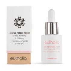 Euthalia Cosmetics Přírodní sérum na obličej se skalní růží 15ml EUTHALIA