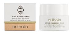 Euthalia Cosmetics Hyaluronový denní krém na obličej pro normální až mastnou pleť 50ml EUTHALIA