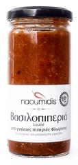 Naoumidis Piperia Vasilopiperia - BIO omáčka z paprik s rajčaty a hříbky 260g NAOUMIDIS
