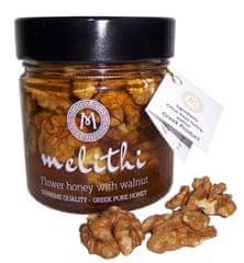 Melithi Med z citrusů - pomeranč a mandarinka s vlašskými ořechy 250 gr MELITHI