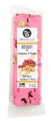 Delicious Crete Nougat tyčinka s burskými oříšky a brusinkami 70g DELICIOUS CRETE