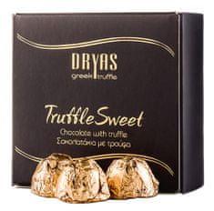 Dryas truffle Čokoládové pralinky s černým letním lanýžem 150g DRYAS