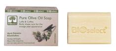 BIOselect Olivové mýdlo s lufou a kávou 80g BIOselect®
