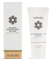 Euthalia Cosmetics Rozjasňující peelingový balzám na obličej a tělo 100ml EUTHALIA