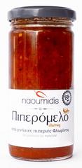 Naoumidis Piperia Piperomelo - BIO chutney z červených paprik a medu 260g Naoumidis