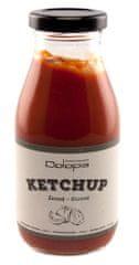 Dolopia Jemný domácí kečup s medem a extra panenským olivovým olejem 280g DOLOPIA