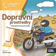 Albi KOUZELNÉ ČTENÍ Minikniha - Dopravní prostředky