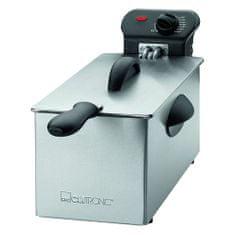 Clatronic  FR 3586 fritéza nerez 3L, rozebíratelná, 2000W