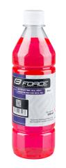 Force Čistič na řetězy 500 ml - růžový