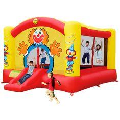 Happy Hop Velký klaun - Velký skákací hrad, nafukovací atrakce na zahradu
