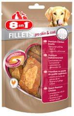 8in1 Pro Skin & Coat fileji, 80 g