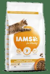 IAMS Vitality Hairball hrana za mačke, sa svježom piletinom, 3 kg