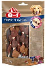 8in1 Triple Flavour ražnjići, 6 komada