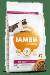 IAMS Vitality za starejše mačke, z oceansko ribo, 800 g