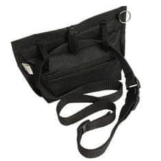 Karlie torebka na przysmaki, czarna 19x22 cm