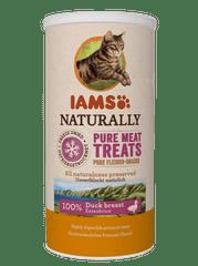 IAMS Naturally Cat Freeze priboljšek za odrasle mačke, posušena raca, 25 g